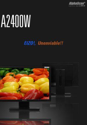 AlphaScan A2400W, nuevo monitor LCD