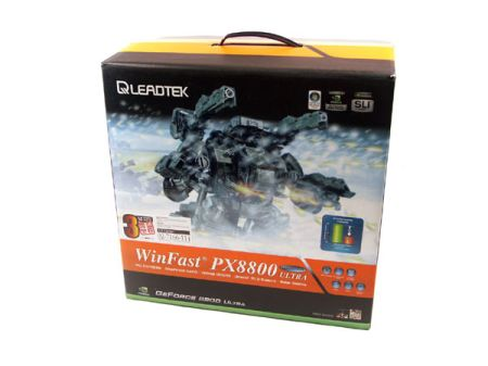 Leadtek WinFast PX 8800 Ultra 768MB Leviathan