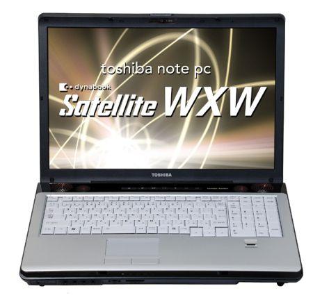 Notebook Thosiba Dynabook Satellite WXW