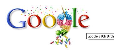 9no Cumpleaños Google