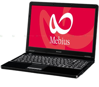 Notebook Sharp PC-FW50X
