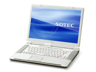 Notebook Sotec Winbook WV