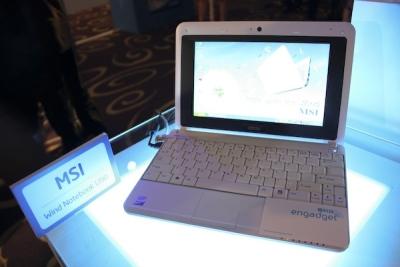 Notebook MSI Wind U90