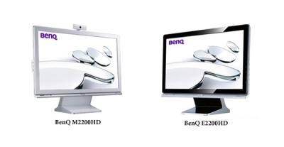 Monitores LCD BenQ E2200HD y M2200HD