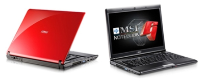 Notebook MSI GX400