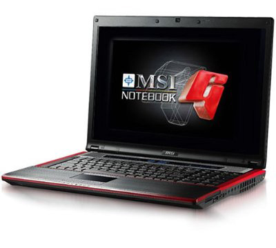 Notebook MSI GT735