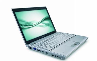 Notebook Toshiba Portege A605