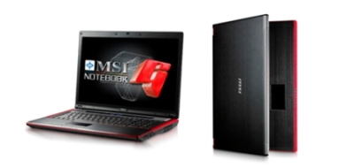 Notebook MSI GT725