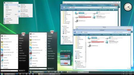 Tema de Windows Vista para Windows 8