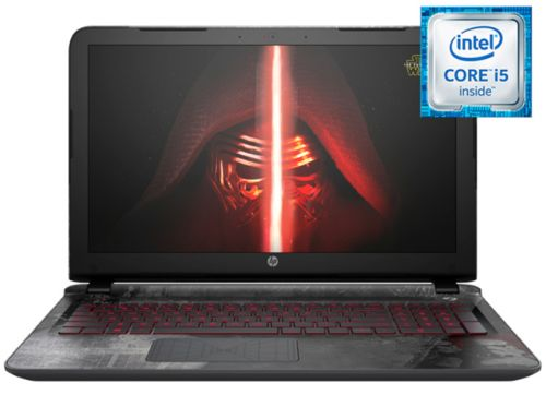 "Notebook HP 15-an001la ""Star Wars Special Edition"""