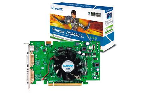 Leadtek WinFast® PX8600 GT TDH Edicion Zalman