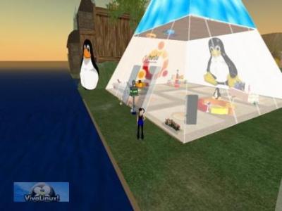 Ubuntu en Second Life
