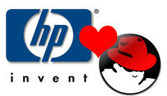 HP y Red Hat