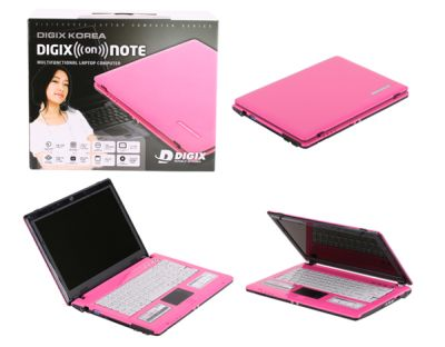 Notebooks rosadas Digix Pink On