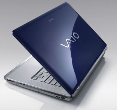 Notebook Sony Vaio CR20