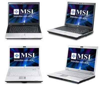Notebook MSI VR420