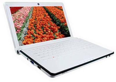 Mini notebook ECS G10IL, tiemba la Asus Eee PC