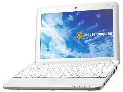 Mininotebook LuvBook U100, la Wind U100 presentada por Mouse Computer