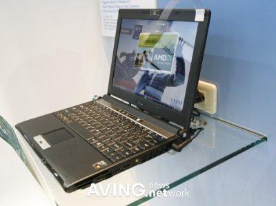 Notebook MSI PX210 basada en AMD Puma