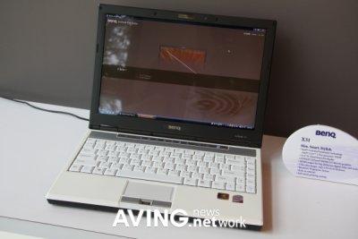 Notebook BenQ Joybook X31: pequeña, delgada y con estilo