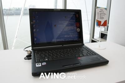 Notebook Averatec TS-400
