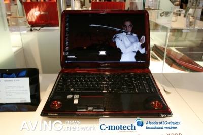 Notebook Toshiba Qosmio X300