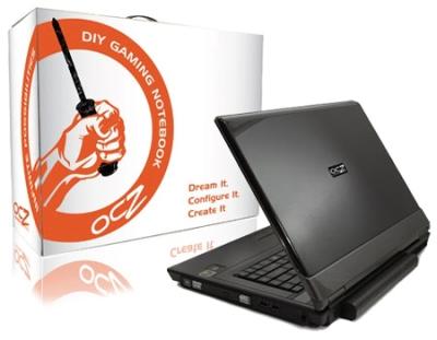 """Notebook OCZ DIY \""""Intel - ATI Edition\"""""""