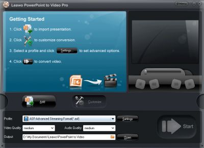 Acoolsoft PPT2Video Converter